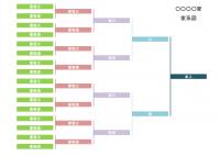 家系図のテンプレート書式・Excel