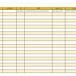 住所録のテンプレート書式02・Excel