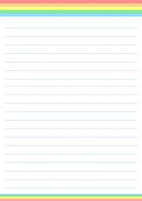 便箋のテンプレート書式(背景)03・PowerPoint