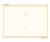 原稿用紙(背景)A4縦書き・20×20_400字のテンプレート書式・Word