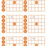 ビンゴカード(A4・6面)のテンプレート書式・Word