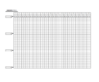 体重推移グラフのテンプレート書式・Excel